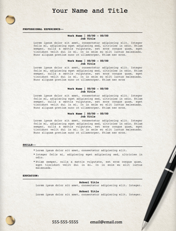 u0026quot movie script u0026quot  template resume  creativework247