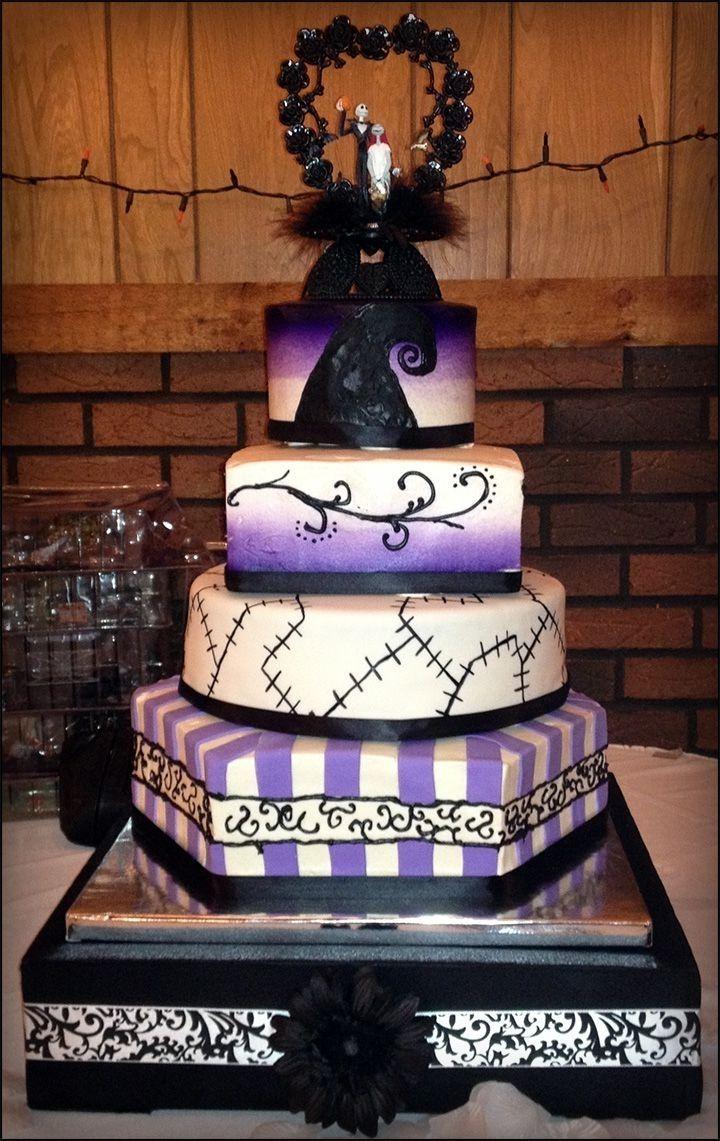 Jack Skellington Wedding Cake food
