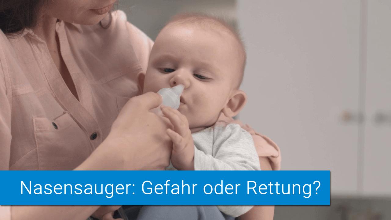 Baby Reibt Sich Die Nase