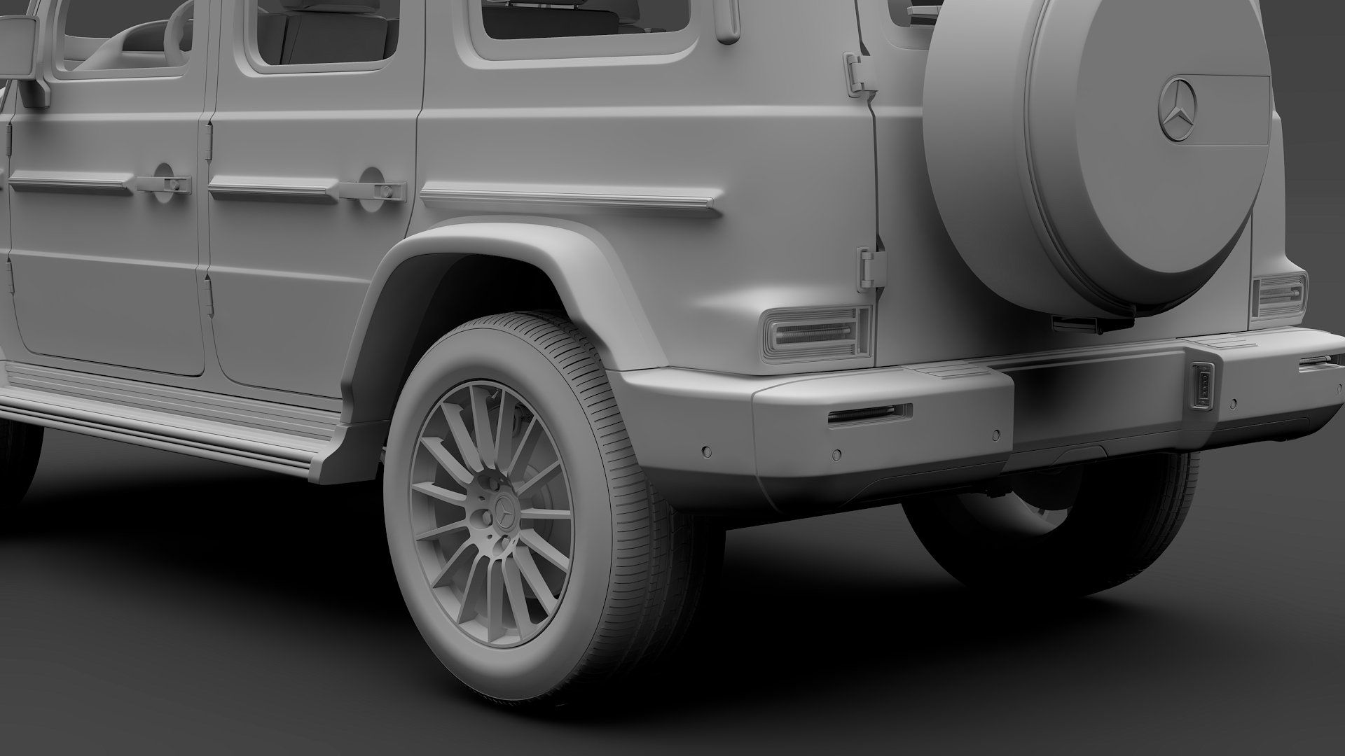 Mercedes Benz G 500 Night Packet W46 correctly materials named apply