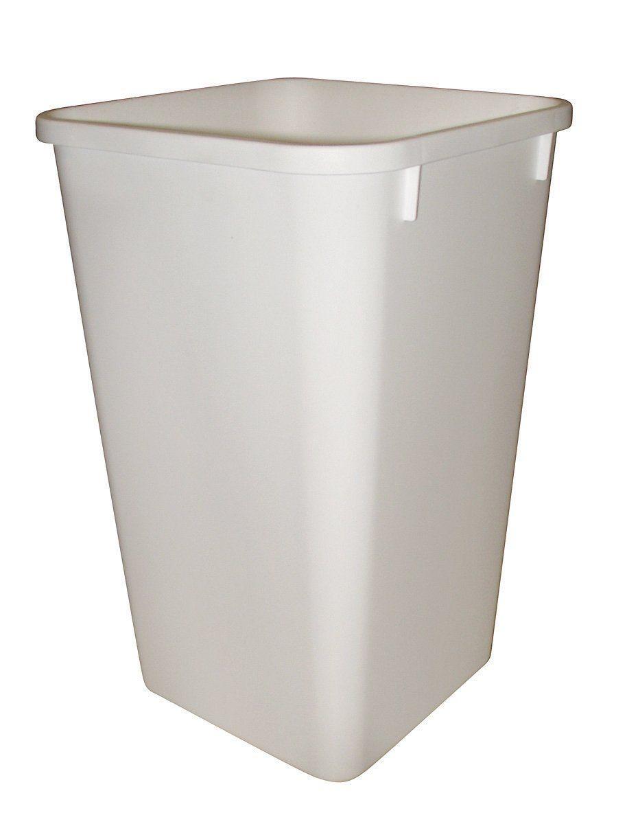 White Kitchen Waste Bin