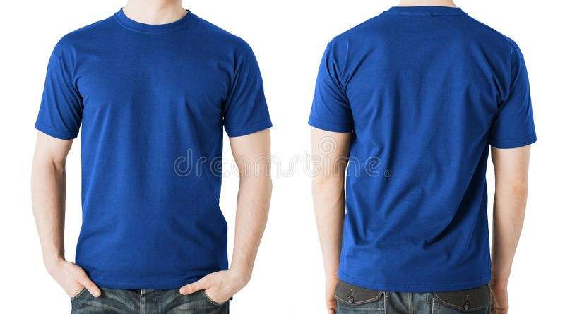 Download Man In Blank Blue T Shirt Front And Back View Clothing Design Concept Man In Sponsored Shirt Front Blu Blue Tshirt Shirts T Shirt Printing Machine