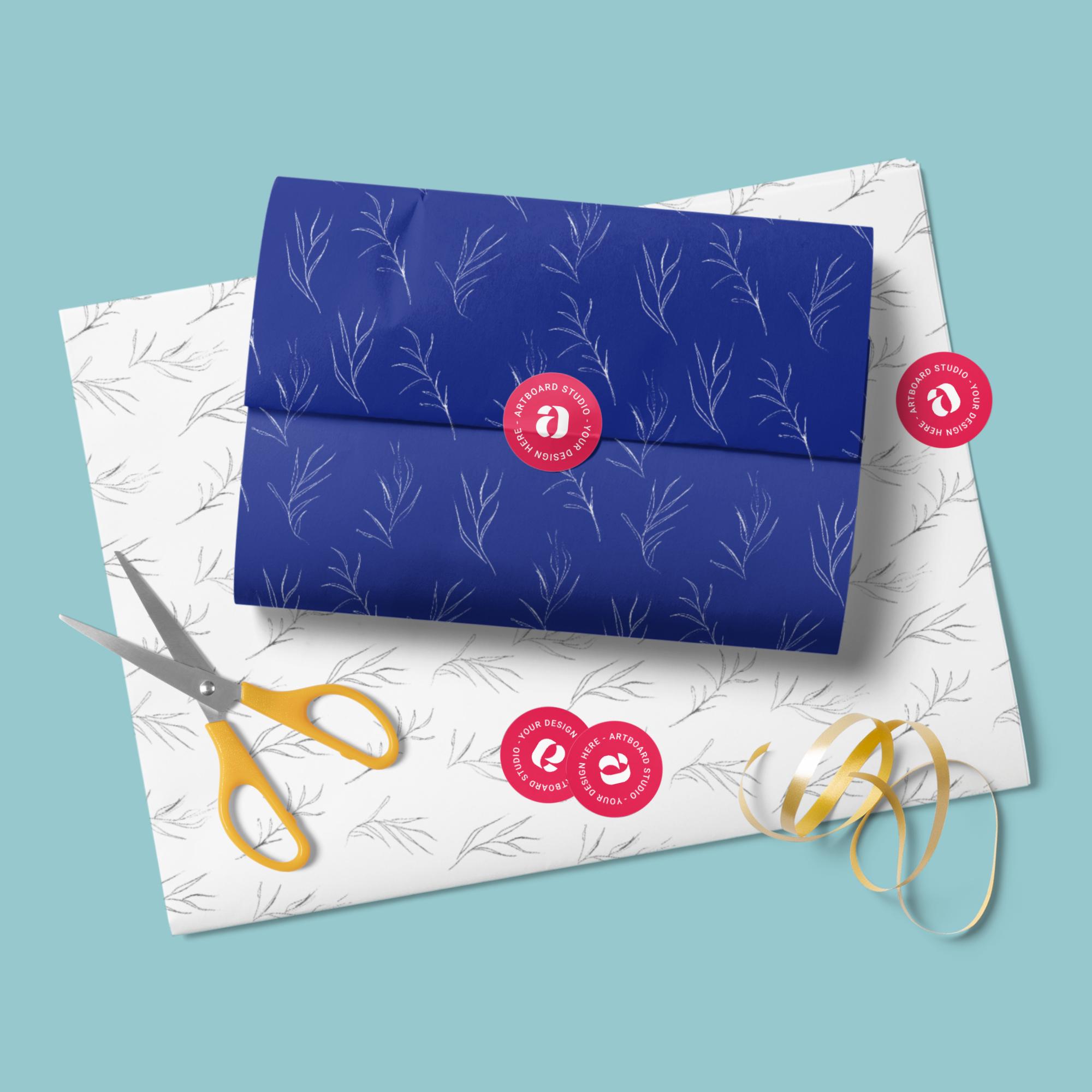 Download Tissue Paper Mockup Scene Paper Mockup Graphic Design Goodies Free Mockup Templates