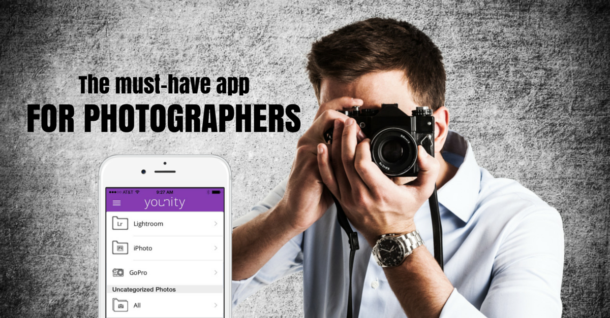 Younity A Must Have Free App For All Photographers App Photography Tips Financial Apps