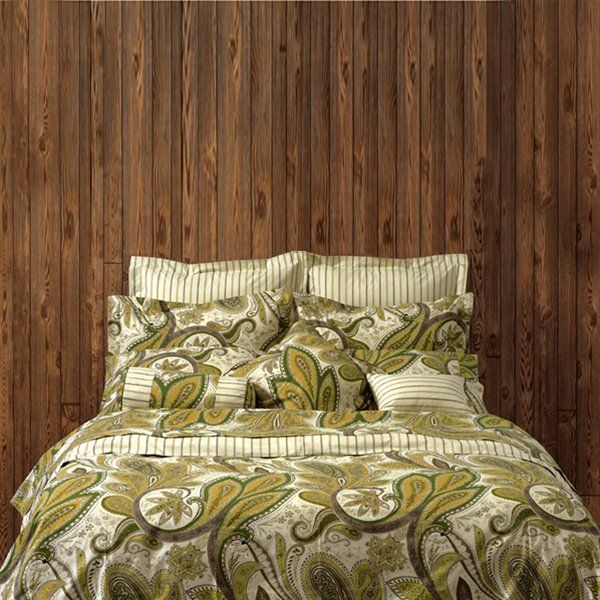 Highland Feather KB-16-DC Paisley Garden Duvet Cover | Lowe's Canada