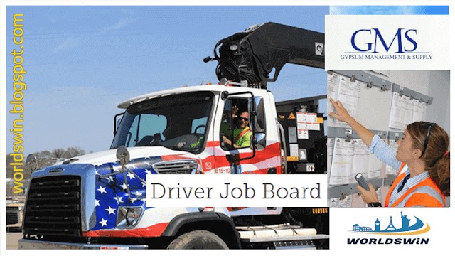 Delivery Drivers Job Opportunities In Usa At Gms Company Driver Job Delivery Driver Job Company Job