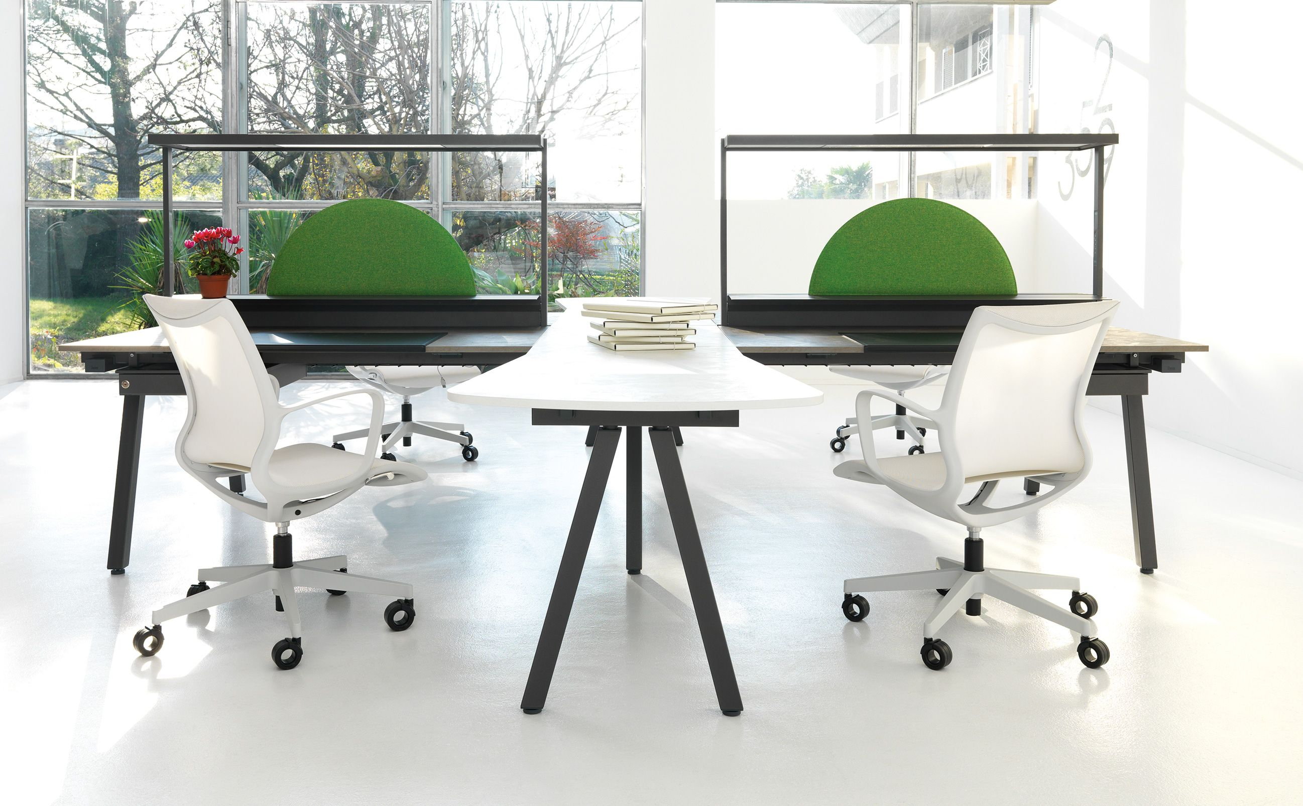 new lines of innovative office furniture launched in milan