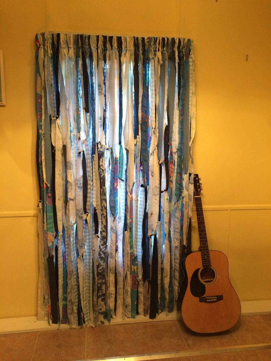 Excited To Share The Latest Addition To My #etsy Shop: Blues Hippie Curtains  (