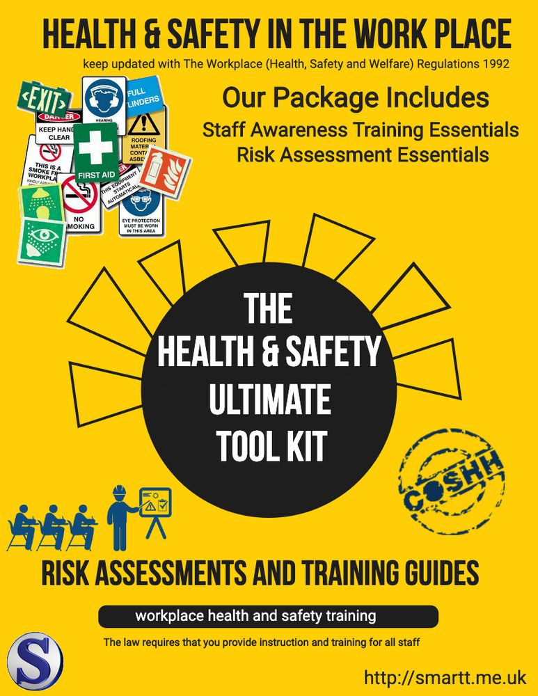 COSHH Fire Health & Safety Risk Assessments Including