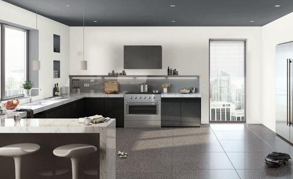 Best Beautiful Black and White Kitchen Design Ideas | http://bestideasnet.com/best-beautiful-black-white-kitchen-design-ideas.html
