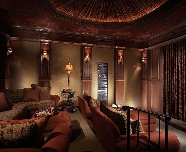 High End Interior Design Firm Decorators Unlimited Palm Beach Caribbean Media Rooms