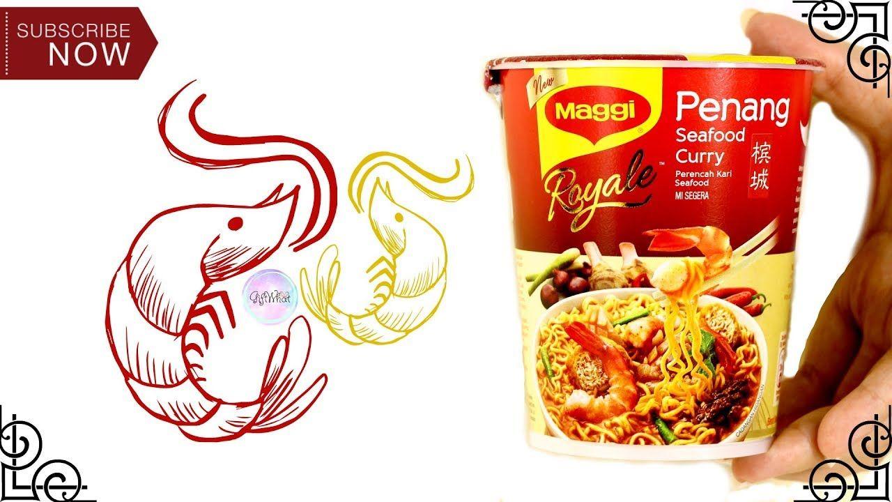 Maggi Royale Penang Seafood Curry Noodles Cup Maggi Royale