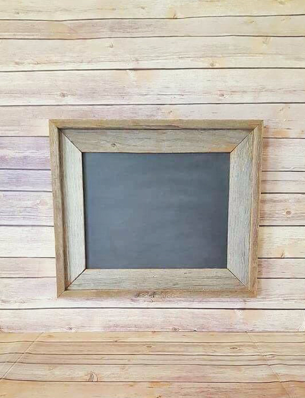 Farmhouse Chalkboard - Rustic Wood Frame Chalkboard - Wood Farmhouse
