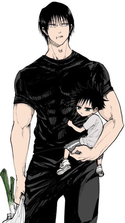 Fan art jujutsu kaisen (yaoi)/(random) - Daddy Toji🛐
