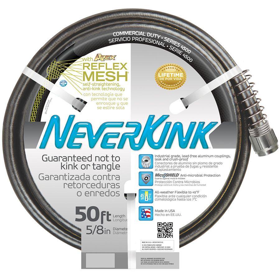 NeverKink X Premium Duty Kink Free Garden Hose 14 Each