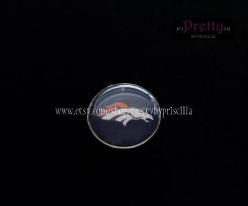 Denver Broncos Custom Floating Charm - Floating Charm - Personalized Floating Charm - Charm for Glass Locket