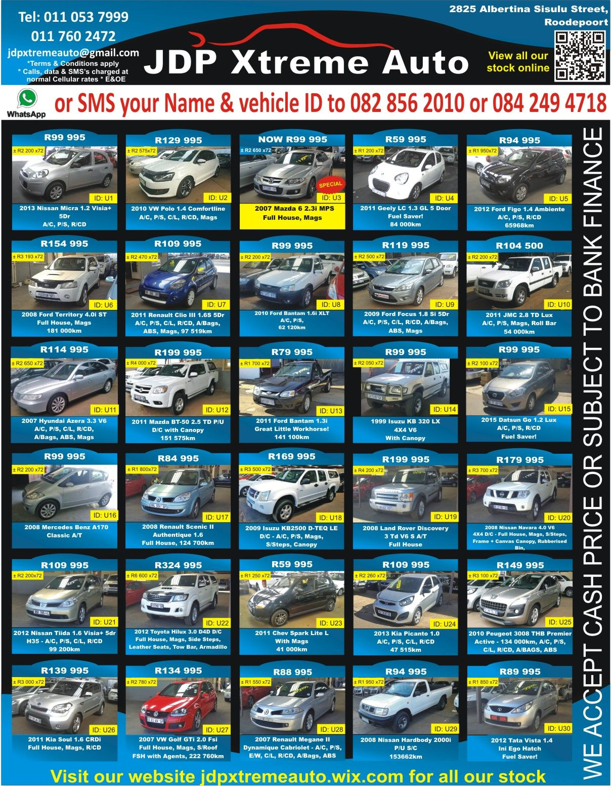 D Looking For Something Xtreme Well We Have Just The Car For You Dont Miss Out Jdp Xtreme Auto Call Us Now For More Inf Roodepoort Auto How To Apply