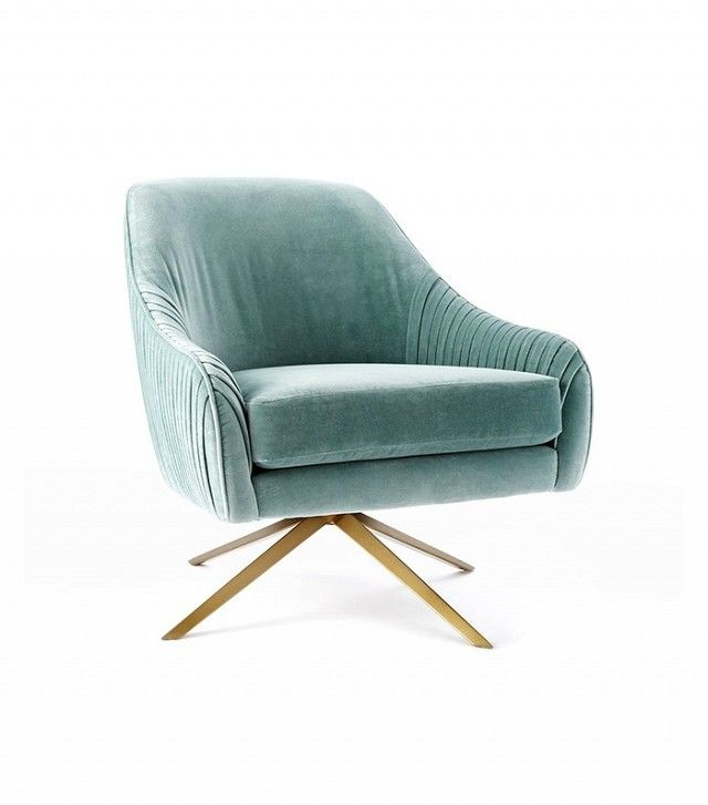 Fresh Teal Bedroom Chair