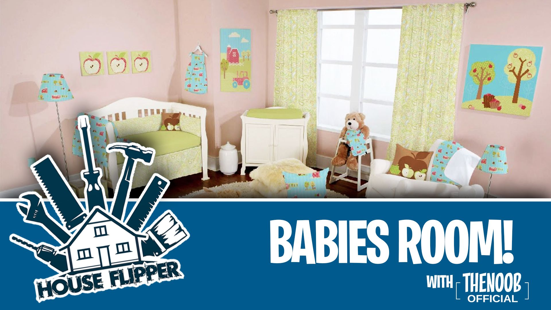 #Letsplay #Houseflipper Babies Room #02 Video Https