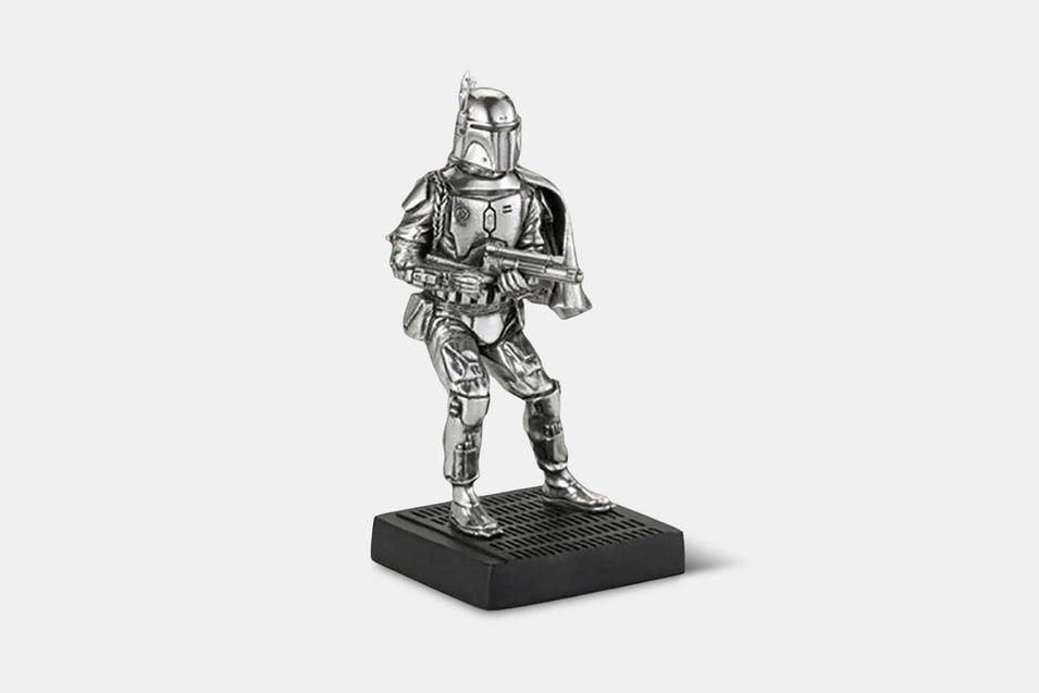 Officially Licensed by Royal Selangor Star Wars Pewter Figurine Boba Fett