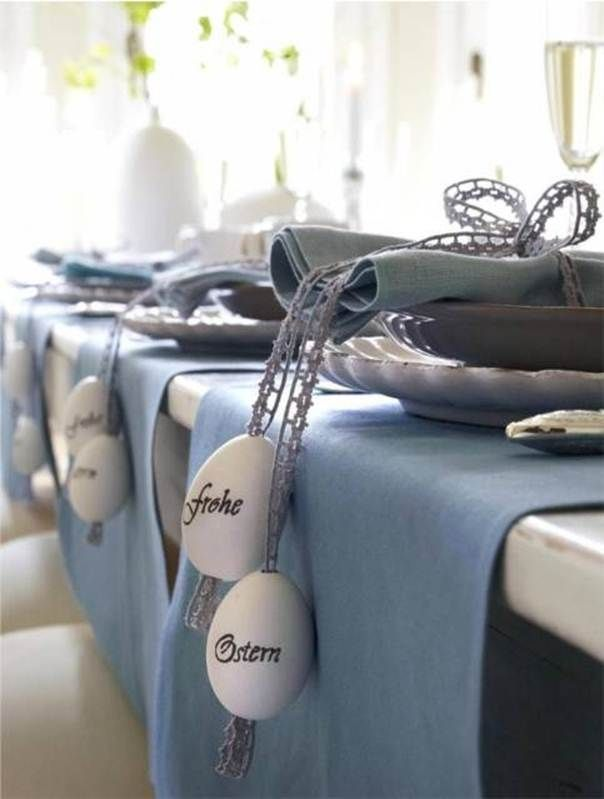 Easter table setting idea...love this!