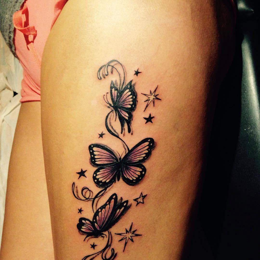 Tra i tatuaggi più diffusi troviamo i tattoo farfalla. Qui ...