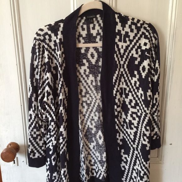 Talbots open front cardigan. Never worn. Talbots Sweaters Cardigans