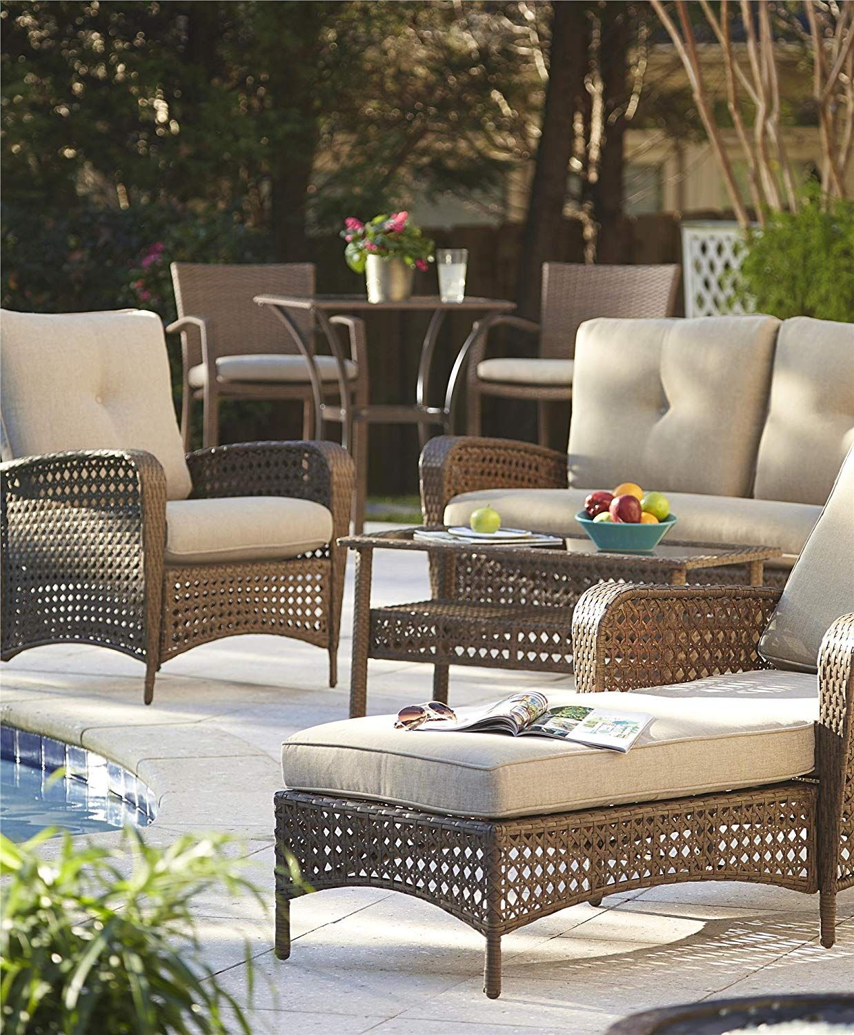 Beautiful patio / deck furniture get this look CLICK