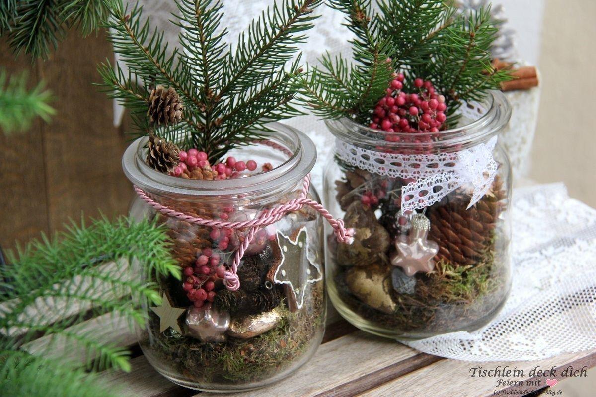 weihnachtsdeko-vintage-weckglas #weihnachtsdekoimglas weihnachtsdeko-vintage-weckglas #weihnachtsdekoimglas
