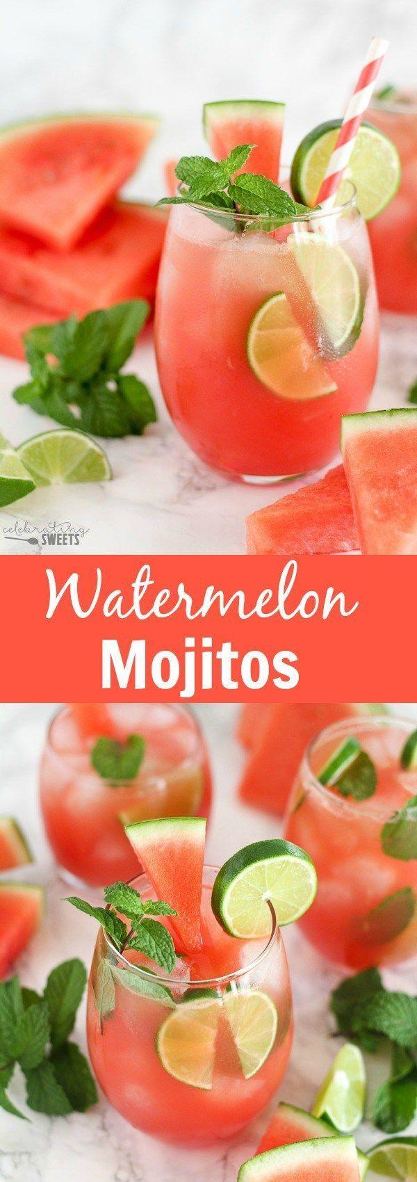 Photo of Wassermelonen-Mojitos – Werfen Sie einen Krug mit diesen frischen und würzigen Wassermelonen … – Diy-Dekoration