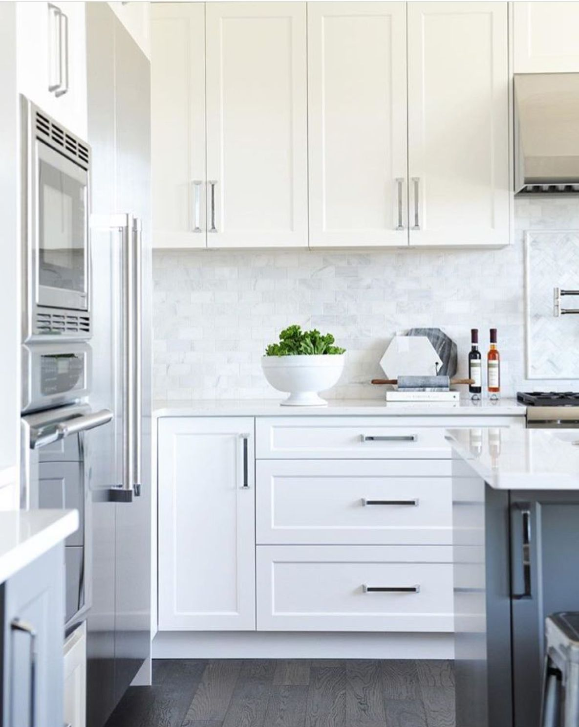 Download Wallpaper Can Kitchen Cabinets Be Too White