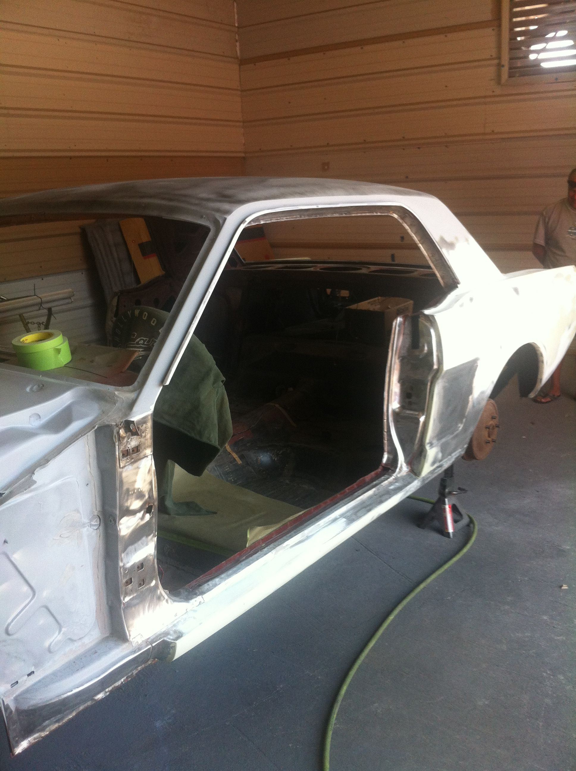 My stripped 66 My 66 Mustang Pinterest