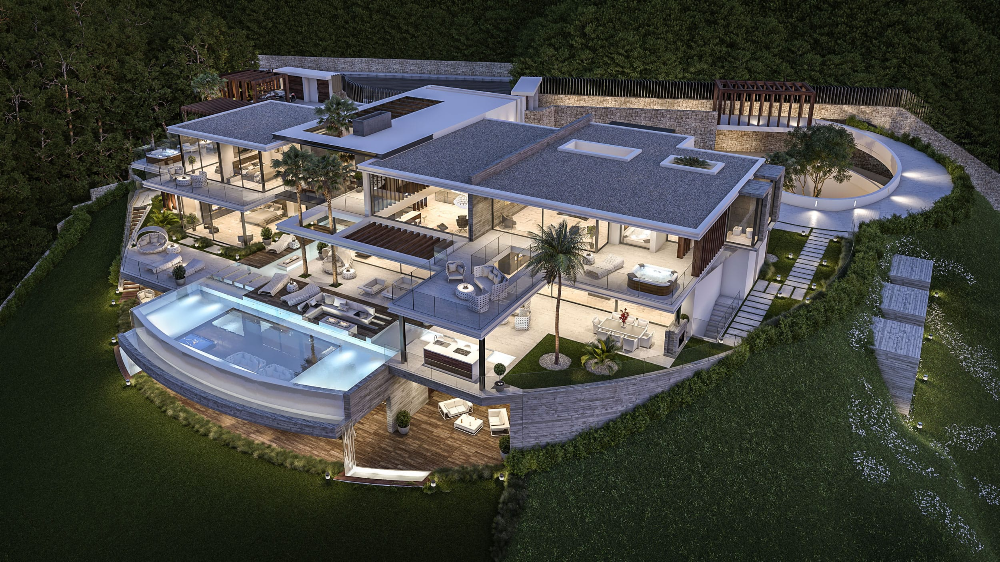 Villa Valhalla Spain B8 Architecture And Design Studio In 2020 Luxury Homes Dream Houses Beautiful Modern Homes Mansions