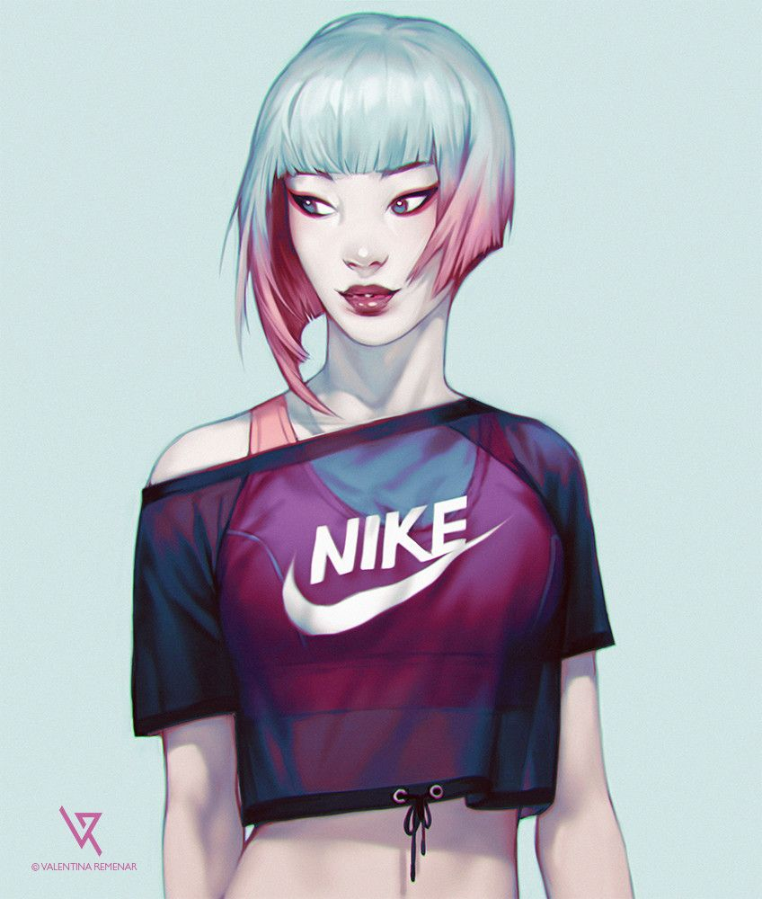 Valentina Remenar Is An Artist From Croatia Who Works In Video Games Books And Digital Illustration Character Design Art Girl Sport Girl