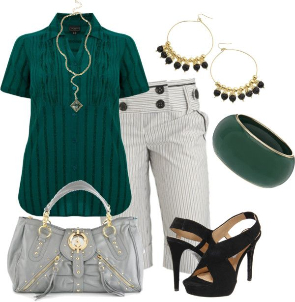 """Bermudas"" by outfits-de-moda2 on Polyvore"