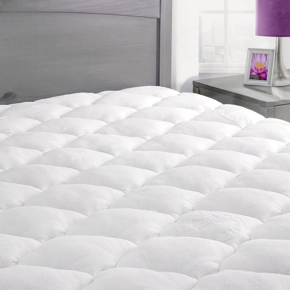 extra plush rayon from bamboo top mattress pad products