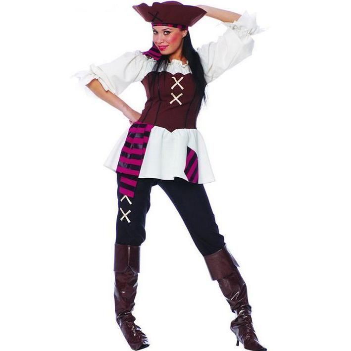 5b0770045 Disfraz de pirata pantalones para mujer | Disfraces de piratas ...
