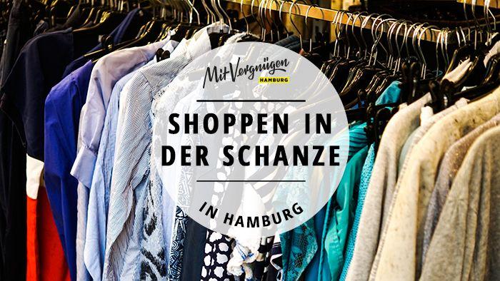 Hamburg hat viele schöne Ecken zum Shoppen. Eine der