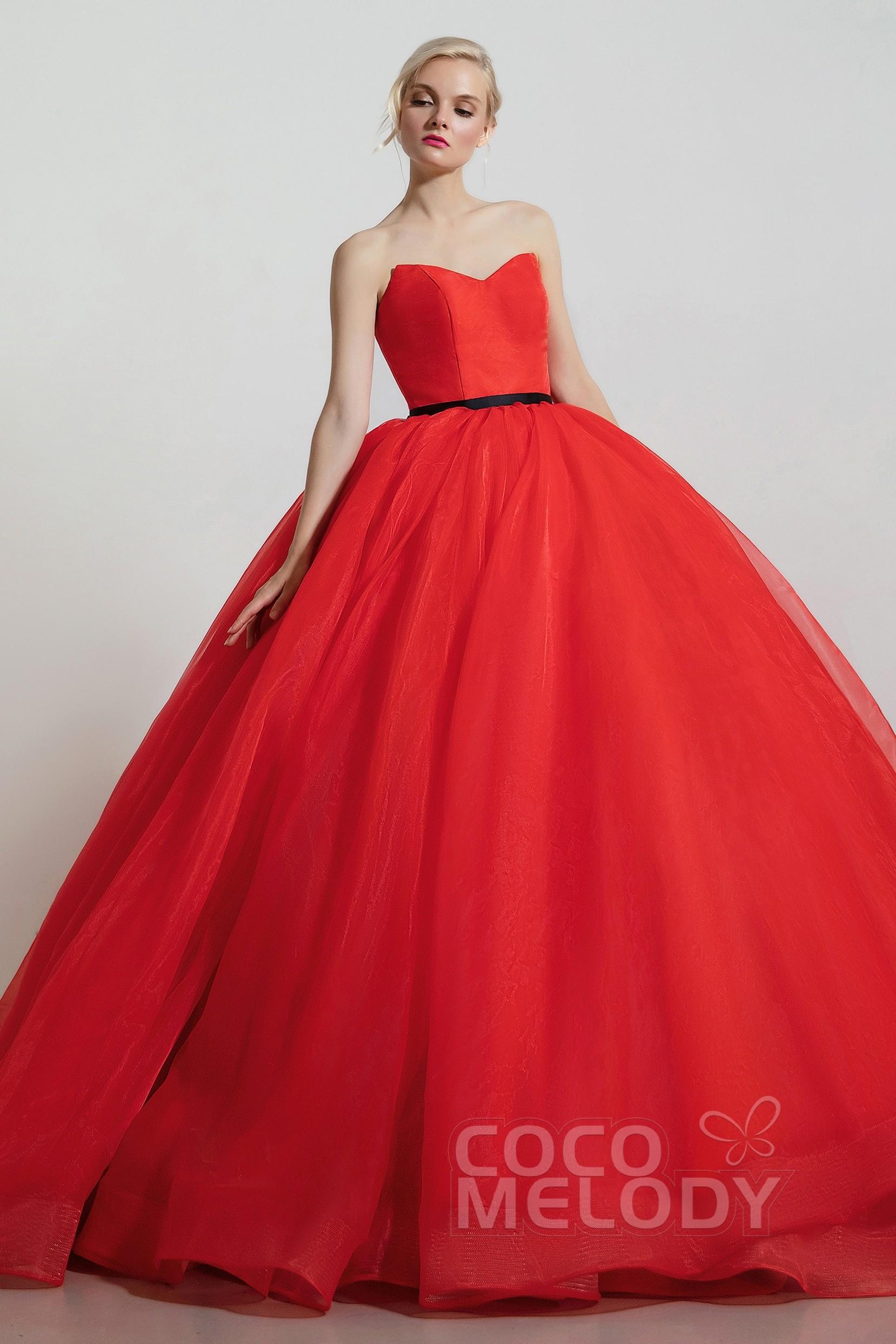 [ USD 699 ] Princess Sleeveless Lace UpCorset Wedding