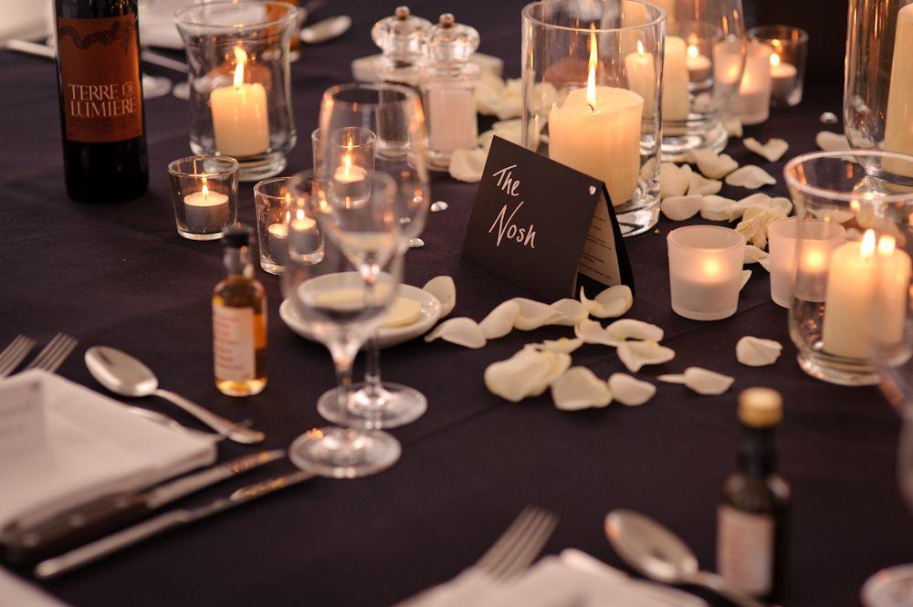 un mariage chic et intimiste en noir et blanc Pinterest