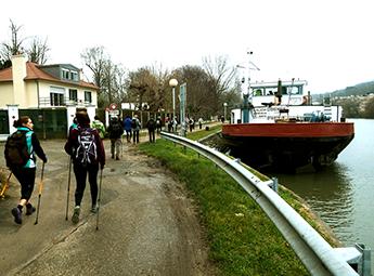 Marche nordique Ile de la Chaussée Bougival