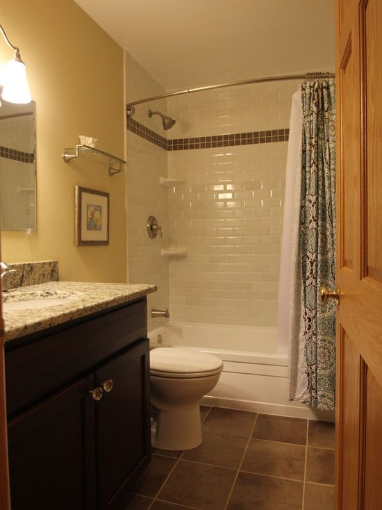 Bathroom Outstanding Really Small Ideas With White Shiny Tile Walls Green Shower Curtain Natural Floor Marble Coutertop Cl