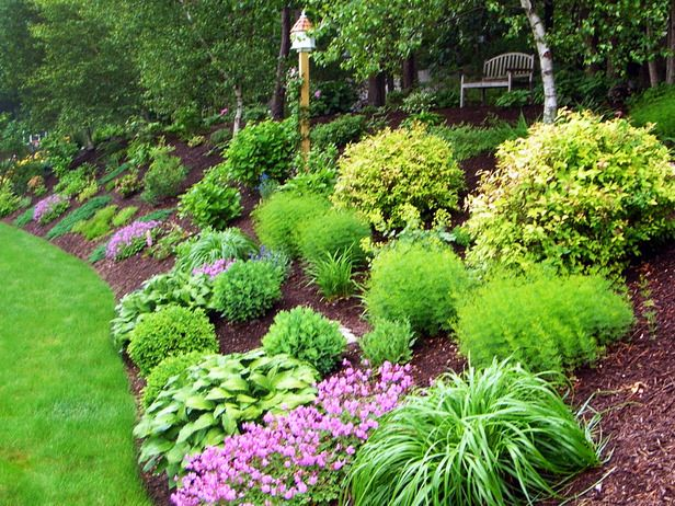 Gorgeous Landscapes Outdoors Home Garden Television Backyard Hill Landscaping Hillside Landscaping Sloped Garden