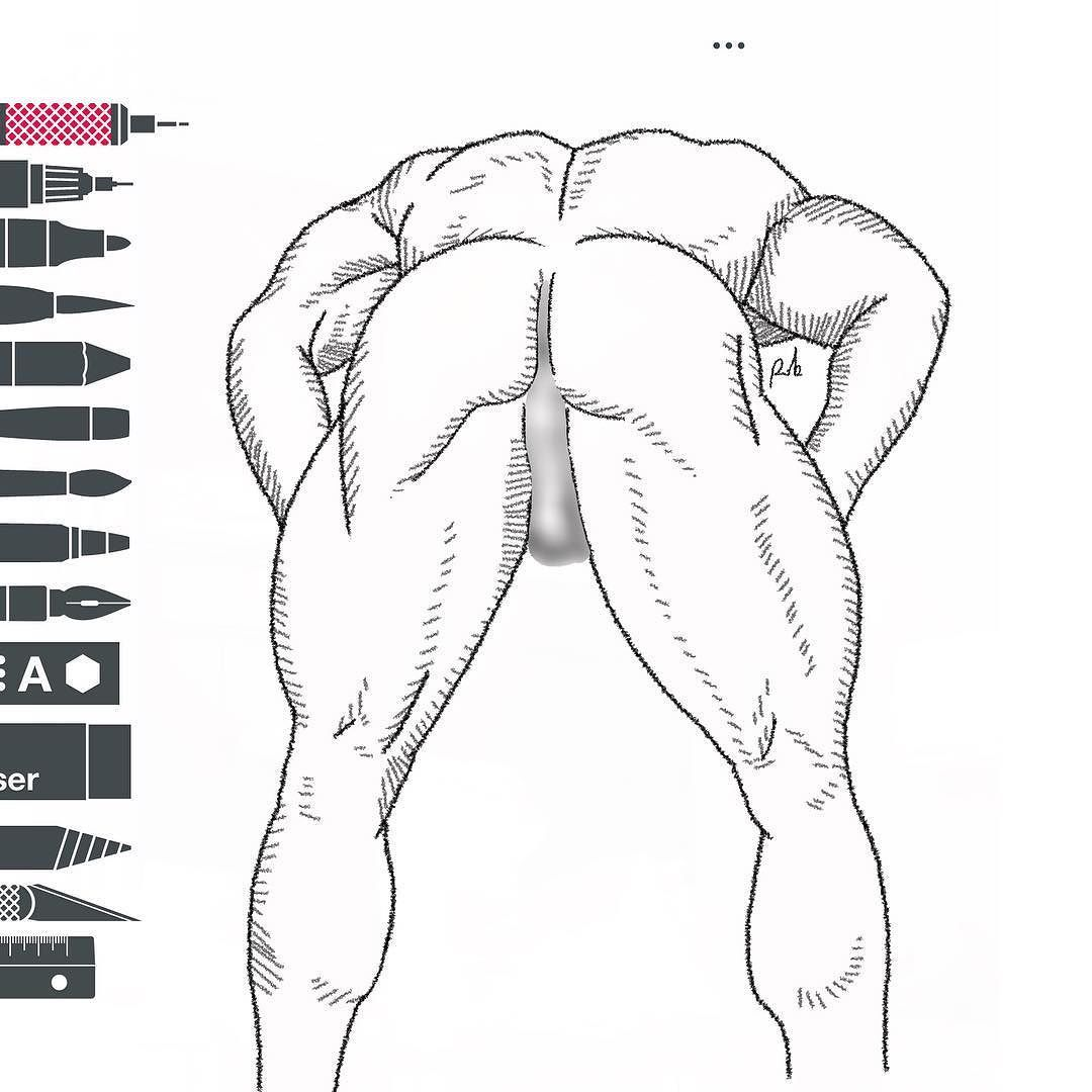 Take a snap muscle bodybuilding sketch sketches sketchespro