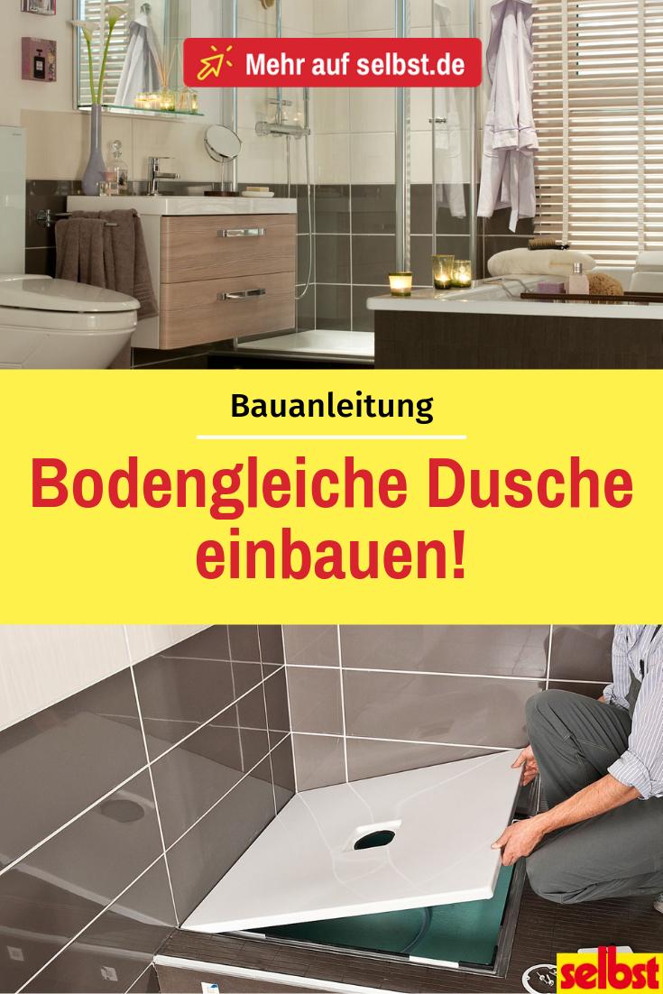 How To Install A Shower Tray In 2020 Dusche Einbauen Dusche