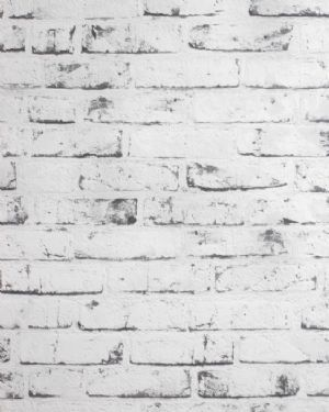As Creation Distressed Brick Effect Black