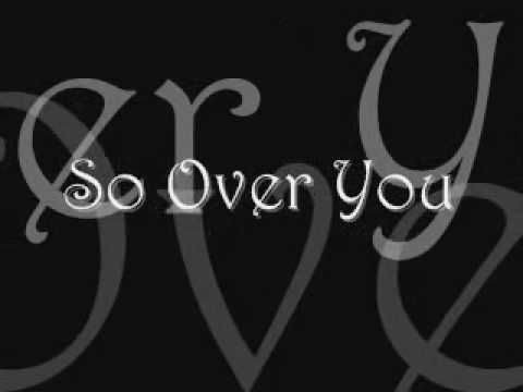 So over You - Auburn (with lyrics) - YouTube
