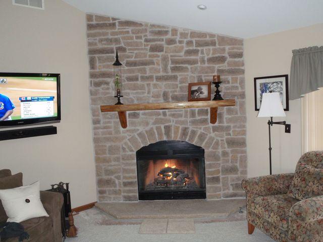 Fireplace Description Part - 50: Stone Fireplace Pics   Mason U0026 Chimney Specialists, LLC: Small Lannon Stone  Fireplaces