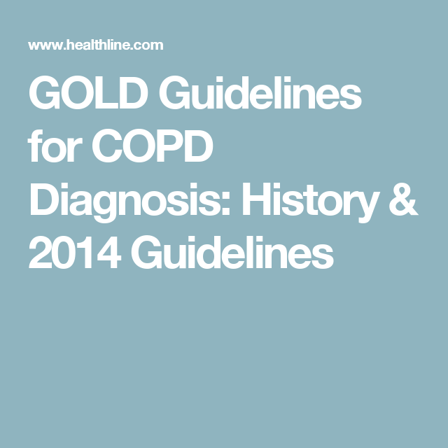 Copd Gold Guidelines 2018 Updates More Copd Guidelines
