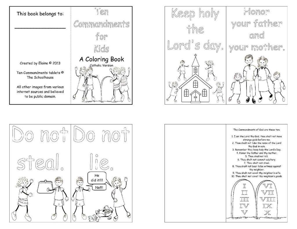 Pin On Commandments For Children